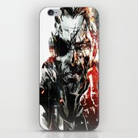 metal gear iPhone & iPod Skins featuring Metal Gear Solid V by Hisham Al Riyami