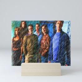 More than just a team 2 Mini Art Print