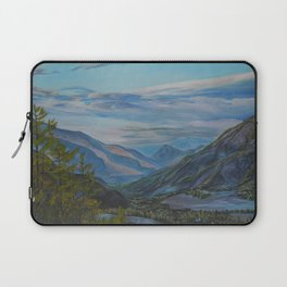 Evening in the mountains Laptop Sleeve