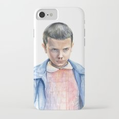 Eleven Stranger Things Watercolor Portrait Slim Case iPhone 7