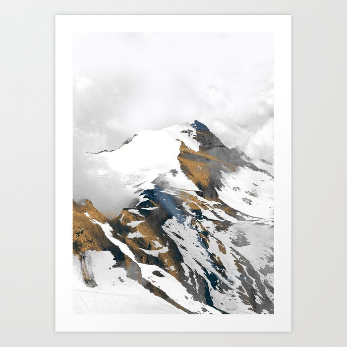 mountain 10 Art Print
