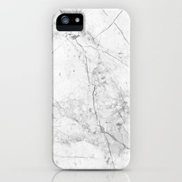 Nordic White Marble iPhone Case
