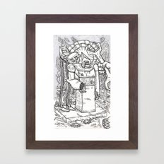 Analysing the Situation Framed Art Print