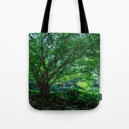 The Greenest Tree Tote Bag