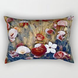 Poppies and Such Rectangular Pillow
