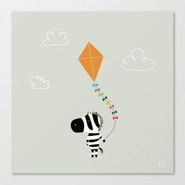 The Happy Childhood Canvas Print