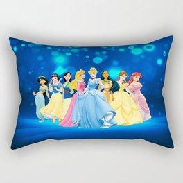 all princess Rectangular Pillow