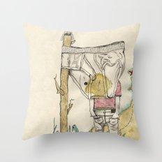 Sinmap Throw Pillow