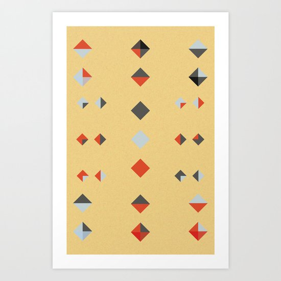 untitled shape 3 Art Print