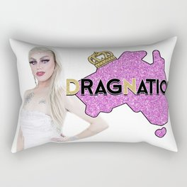 Dragnation Season 3 - NSW- Krystal Kleer Rectangular Pillow