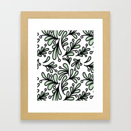 Mistletoe Framed Art Print