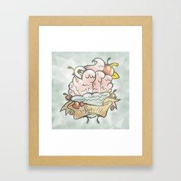 Prince Albert Cupcake Framed Art Print