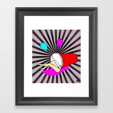 There's A Party In My Cup Framed Art Print