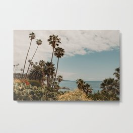 Laguna Beach USA | Fine Art Travel Photography Metal Print