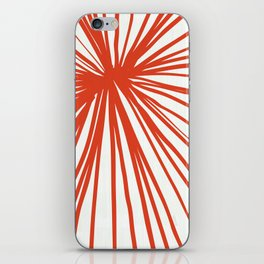 Dandelions in Red by Friztin iPhone Skin