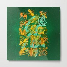 Space Codex 7801 Metal Print