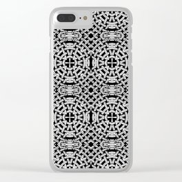 It's Knot Work It's Play. Clear iPhone Case
