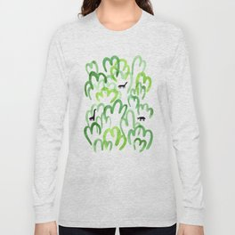 Animals in the forest Long Sleeve T-shirt