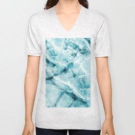blue ice Unisex V-Neck