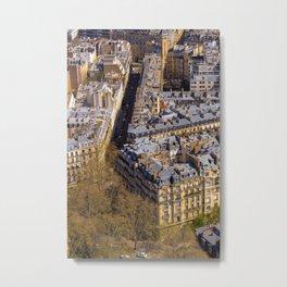 Paris view Metal Print