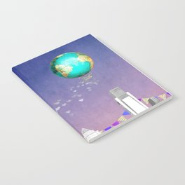 Float On Notebook
