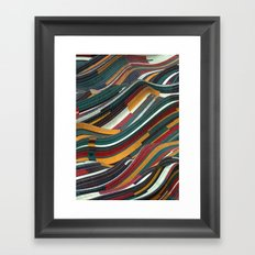 Tiles Days Framed Art Print