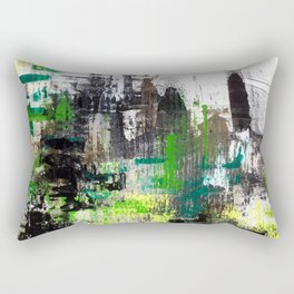 Paint06 Green System Rectangular Pillow