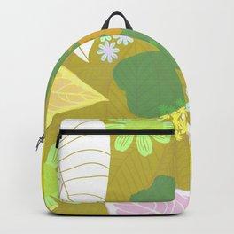 gardenia, olive Backpack