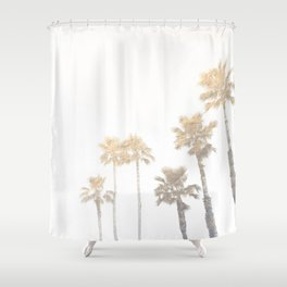 Tranquillity - gold dust Shower Curtain