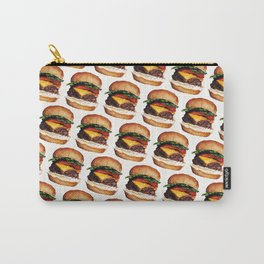 Cheeseburger Pattern Carry-All Pouch