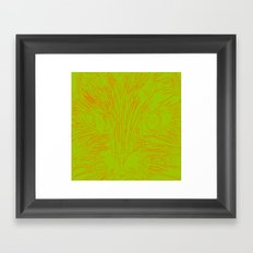 Orange Kitty 2 Framed Art Print