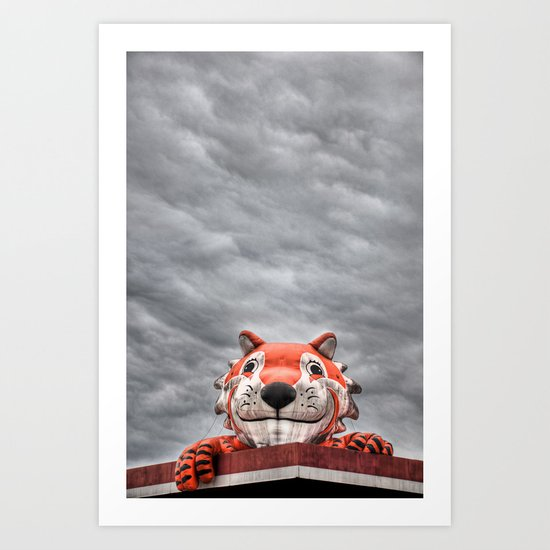 The Eye of the Tiger Art Print
