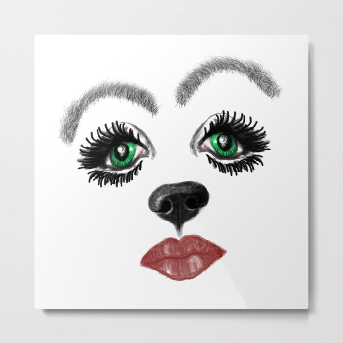 Did you say Snout? Metal Print