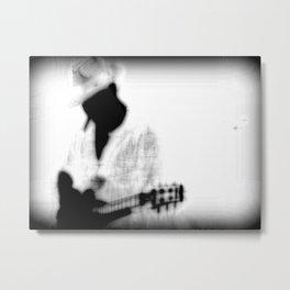 Guitar player Metal Print