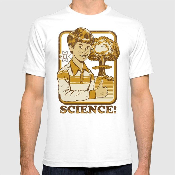 6ce692af0 SCIENCE! T-shirt by stevenrhodes | Society6