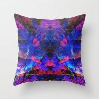 pyramid Throw Pillows featuring Pyramid by Assiyam