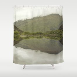 Reflections from Diamond Lake Shower Curtain
