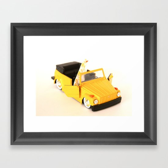 The Bumble Thing Framed Art Print