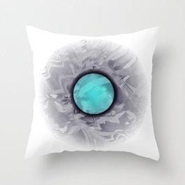The circle Throw Pillow