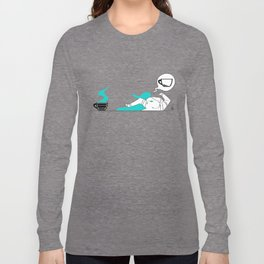 I Need Coffee (Colored) Long Sleeve T-shirt