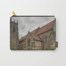 Old market town church , England Carry-All Pouch