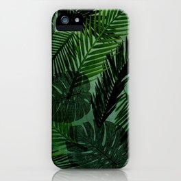Green Foliage iPhone Case