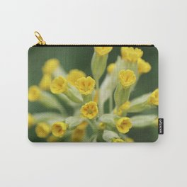 Yellow primula Carry-All Pouch
