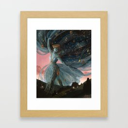 The Veil of Night Framed Art Print