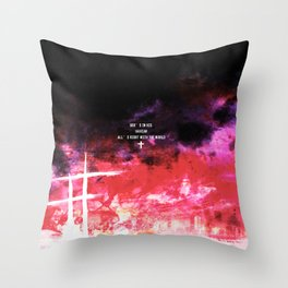 God's in his heaven Throw Pillow