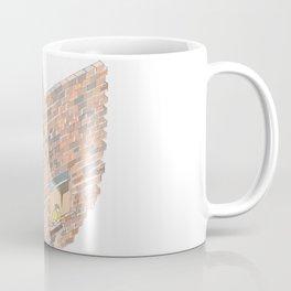2 dimensions of separation - brick neighbour lovers Coffee Mug