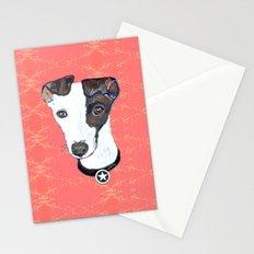 Greyhound Portrait Stationery Cards