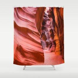 Deep Inside - Antelope Canyon in Desert Southwest Shower Curtain
