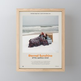 Eternal Sunshine of the Spotless Mind (2004) Minimalist Poster Framed Mini Art Print