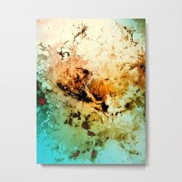 δ Minelava Metal Print